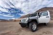 Jeep Wrangler in the desert