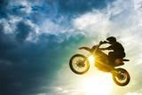 Fototapety Motocross Bike Jump