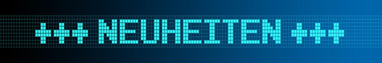 Website Banner - Neuheiten - Format 6 zu 1 - g998