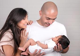 Happy parenthood concept