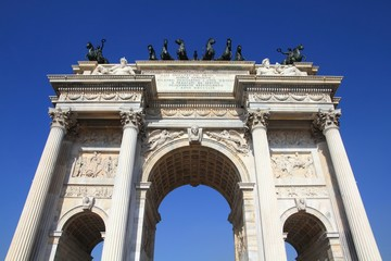 Milan monument - Arch of Peace