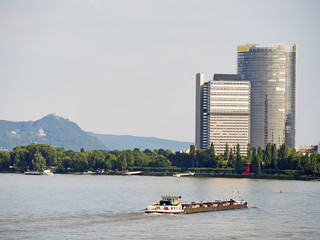 river and skyscraper Bonn
