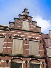 Haarlem, Netherlands. Typical architectural details