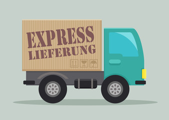 LKW Express Lieferung