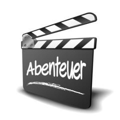 Filmklappe Abenteuer
