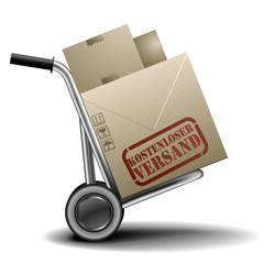 Handkarren kostenloser Versand