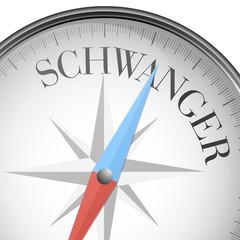 Kompass Schwanger