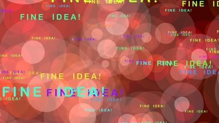 Fine idea! - motion graphics