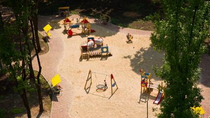 Children's Playground From Above