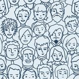 Fototapety People pattern
