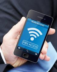 WLAN Hotspot -  Free Access