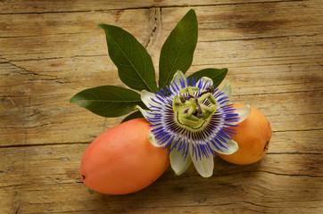 Passiflora caerulea Passion flowers Passionsblumen Страстоцвет