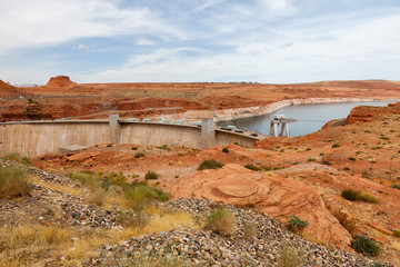 Diga di Hoover con vista sul Lake Powell