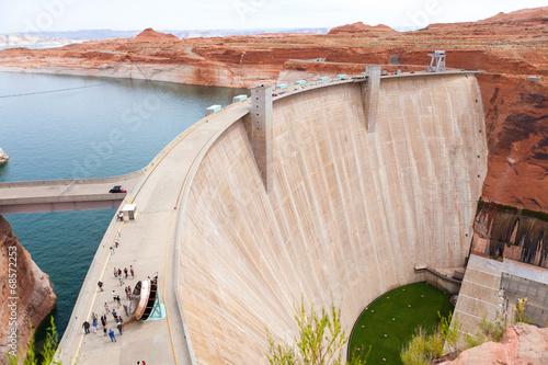 Staande foto Dam Hoover dam