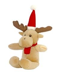 Santa deer toy