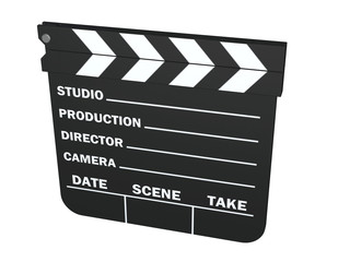 Clapper - Stock Image