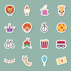 circus color icons