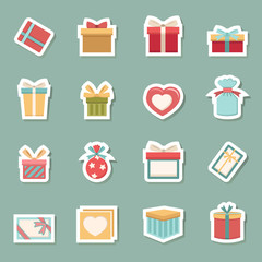 gift box color icons