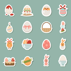 horiday easter color icons