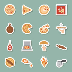 pizza px color icons
