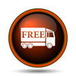 Free delivery truck icon