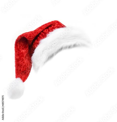 Leinwandbild Motiv Nikolausmütze