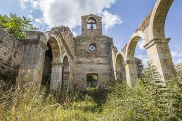 Resti della chiesa di Santa Maria di Cartignano