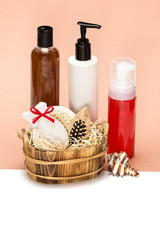 Accessories and cosmetic products for body care