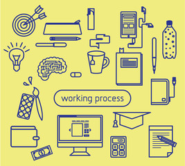 education and working creative process