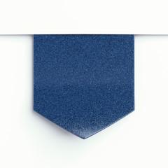 blue  clothing label