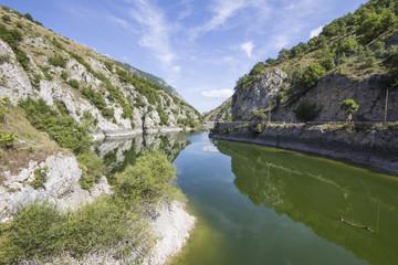 Gole del Sagittario in Abruzzo