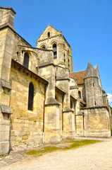 Nuestra Señora de Auvers-sur-Oise, Francia, Van Gogh