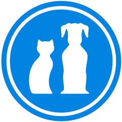 pet blue icon