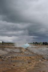 Eruption geyser 1/6