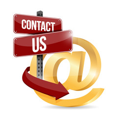 contact us at symbol illustration design