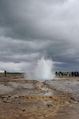 Eruption geyser 3/6