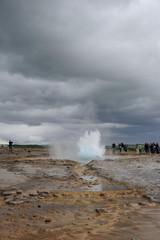 Eruption geyser 2/6