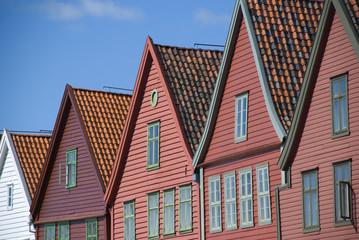 hansestadt bergen, norwegen
