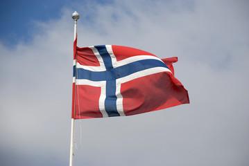 flagge von norwegen