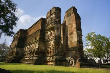 Lankathilaka temple, Polonnaruwa, Sri Lanka