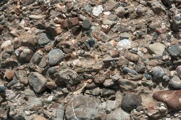 Различные галечные камни текстура