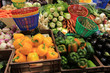 Fruit and vegetables at French market