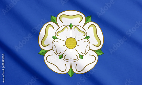 Canvas Noord Europa Flag of Yorkshire