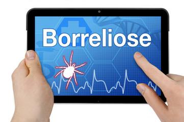 Tablet mit Interface und Borreliose