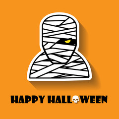 mummy halloween icon