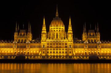Hungarian Parliament building.