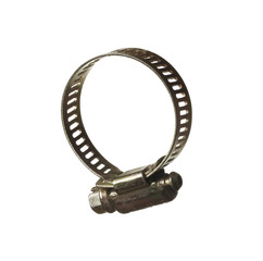 Isolated hose clamp