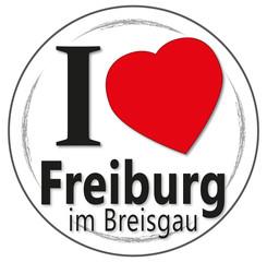 I love Freiburg im Breisgau