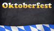 Oktoberfest auf Tafel