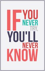 colorful inspiration motivation poster